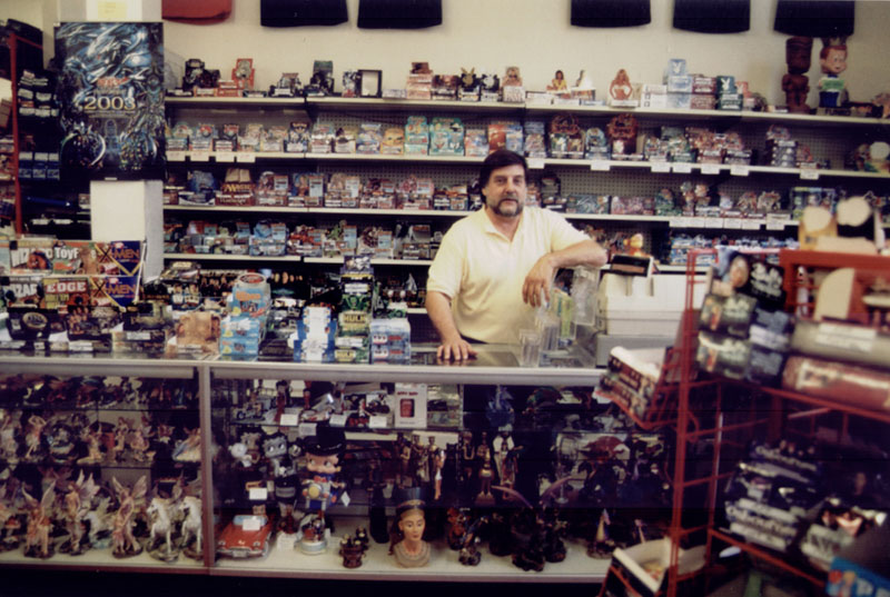 Bob the human at Fantasy Books and Games