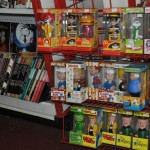 """A smattering of Wacky Wobblers and """"alternative"""" pubs books at Fantasy Books and Games"""