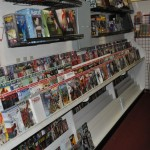 New Comic rack at Fantasy Books and Games