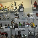 Even more comic character statues at Fantasy Books and Games